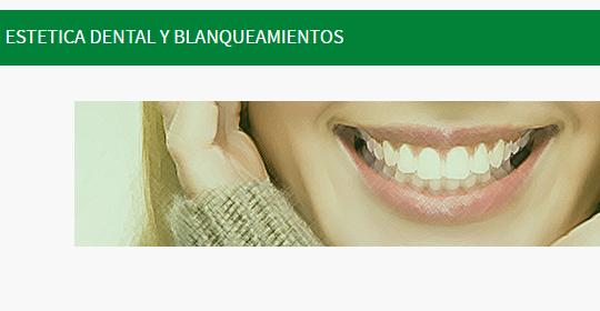 Blanqueamiento dental en La Negrilla