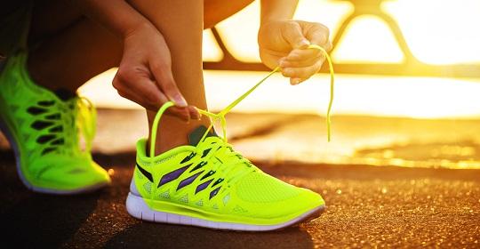 El calzado para deportistas