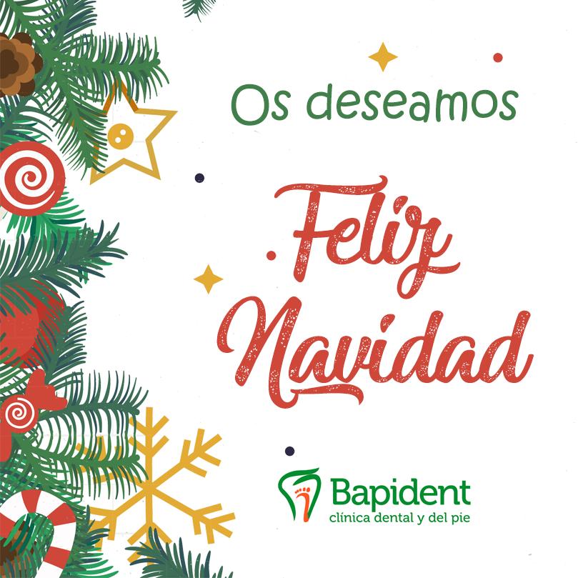 Feliz Navidad - Bapident