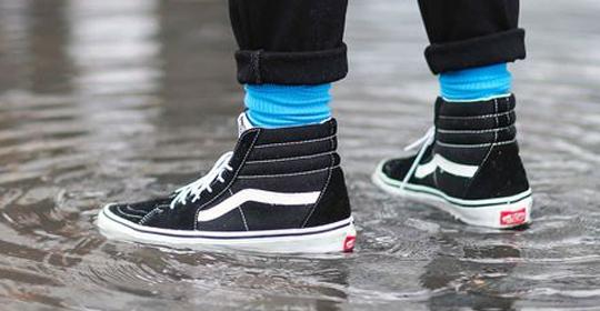 El mejor calzado para la lluvia