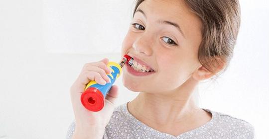 Cuándo pueden usar los niños los cepillos eléctricos