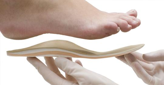 El cuidado de las plantillas ortopédicas